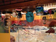 More Jars and glass domes to display creepy artifacts.