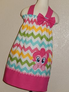 Pinkie Pie  My little Pony Halter Neck Dress by Just4Princess, $32.00 Why can't 30 year olds wear stuff like this?