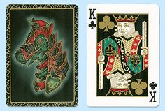 Bicycle Warrior Horse Playing Card Sets