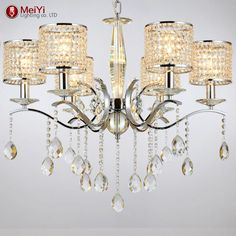 Modern Crystal Chandelier K9 Crystal 110~240V Crystal Chandeliers For Living Room Or Bedroom Lighting Decor Lustre Para Quarto