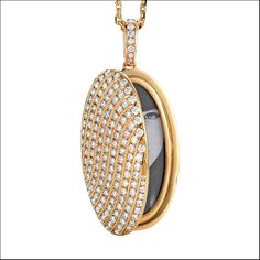 Calima Collection, pendente in oro diamanti