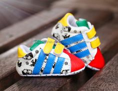 Baby Boy Girl Colourful Soft Sole Sneakers Crib Shoes Size Newborn to 18 Months in Clothing, Shoes & Accessories Toddler Boy Shoes, Toddler Sneakers, Baby Boy Shoes, Baby Sneakers, Crib Shoes, Boys Shoes, Baby Boy Outfits, Infant Toddler, Shoes Sneakers