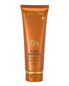 Flash Bronzer Tinted Self-Tanning Leg Gel with Pure Vitamin E, 4.2 oz.