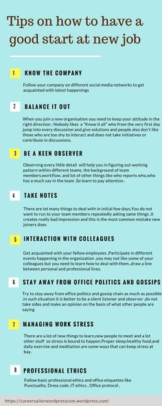 full Read : https://goo.gl/lKXn0u  How to keep calm and focus on work in initial few days ? follow these tips  #Work #motivation #newJob   Check out more @ https://careersailorwordpresscom.wordpress.com/