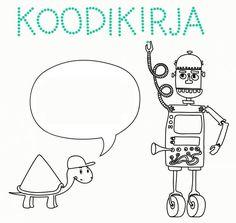 Opi koodaamaan vekkulin kilpikonnan ja avuliaan robotin kanssa. Sopii 4-120 vuotiaille yksin tai äidin kanssa