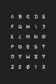 Synthetic Typeface on Behance