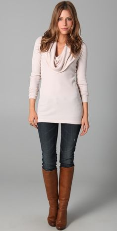 Everyday fall outfit- and I have a top very similar to this...