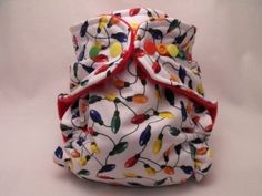 The Cutest Christmas Cloth Diapers ... Next year we WILL have Christmas diapers!!