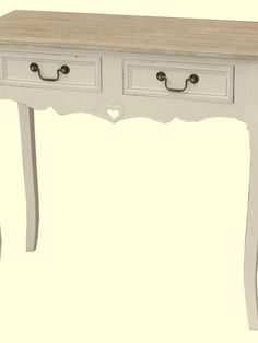 2 drawer console table - mahon Hall Furniture, Console Table, Entryway Tables, Drawer, Shabby Chic, Cabinet, Storage, Home Decor, Clothes Stand