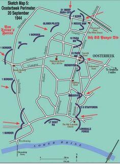 Operation Market Garden, Feature Article, Warfare, World War Ii, Ww2, Netherlands, Maps, Transportation, Battle