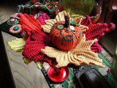 Fiddlesticks - My crochet and knitting ramblings.: Crocheted Leaves