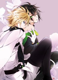 Anime Yaoi Fanart - Lưu Trữ - Owari no Seraph: Mika x Yuu Anime Amino, Desenhos Love, Mikaela Hyakuya, Seraph Of The End, Owari No Seraph, Fan Art, Shounen Ai, Anime Ships, Fujoshi