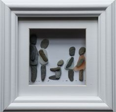 Family pebble & sea glass portraits commissioned at: https://www.facebook.com/cornwallpebbleart