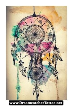 Hippie Dreamcatcher Tattoo 24 - http://dreamcatchertattoo.net/hippie-dreamcatcher-tattoo-24/