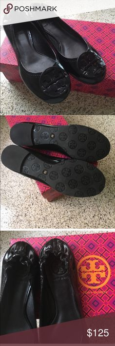 New Tory Burch Black flats The essential shoe in your wardrobe is you are truly chic! Tory Burch Shoes Flats & Loafers