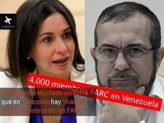 En las últimas horas, exdiputada venezolana y opositora al régimen de Nicolas Maduro ha denunciado y confirmado que en Venezuela habrían más de 4000 miembros de la organización terrorista de las FARC en este país. En el programa de la Hora de la Verdad del exministro Fernando Londoño, se denunció que en Venezuela habría 5 estados que estarían en manos de la organización terrorista FARC siendo confirmado por la exdiputada quién aseguraría que Venezuela es ruta clave para la distribución de…