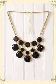 Cubed Charcoal Necklace