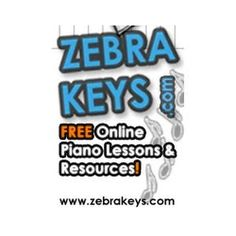 50 Free Piano Lessons & Resources - see the list of all the lessons, which are sub-divided into five mini sections - Learn Songs, Chords Piano, Music Theory, Improvisation, and Piano Techniques - http://www.zebrakeys.com/blog/