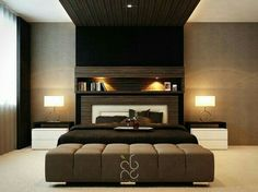 Superbe Sophisticated Master Bedroom Contemporary Master Bedroom With Black  Comfortable Master Single Bed Wit.