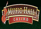 Music Hall Casino Sign-up Bonus: 25% Match bonus on first deposit up to $€£500 Minimum Deposit: $€£20