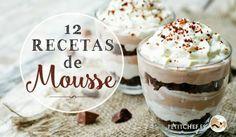 12 recetas de mousse