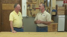 Learn more about working with pallet wood and planer safety in this discussion between George Vondriska and Roger Break.
