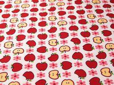 Tissus à motifs pommes ! Une création orginale de AllStoff sur DaWanda.com