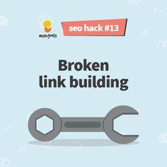 Broken Link, Seo Marketing, Hacks, Tips