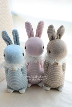 #305 + #306 + #307  Domy Rabbit (sock rabbit)