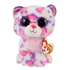 Serena the Snow Leopard - Ty Beanie Boo All Beanie Boos, Beanie Boo Dogs, Ty Beanie, Beanie Babies, Kids Toy Store, New Kids Toys, Big Eyed Stuffed Animals, Leopard Cat, Snow Leopard
