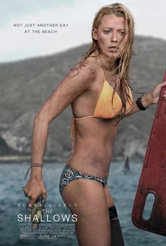 Blake Lively Is a Bloody, Bikini-Clad Mess in These Terrifying Photos From The Shallows Blake Lively Bikini, Blake Lively Body, Movies And Series, Hd Movies, Movies And Tv Shows, Movie Tv, Movies Free, 2017 Movies, Watch Movies