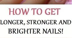 Every female would like to have long healthy and strong nails. However, that's not so easy to attain the achievements. There are different ...