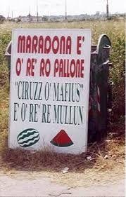Risultati immagini per cartelli napoletani