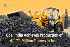 One of the biggest global coal miners, which has eight producing arms, achieved 99% of the monthly target of 43.31 MT in June. The Centre has announced plans to boost Coal India's annual production to meet growing fuel demand. #BCCL #CCL #CoalIndia #ECL #MCL #NCL #NECSECL #WCL