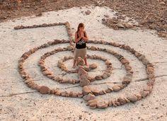 cho ku rei - I love how the symbol is made like a labyrinth.