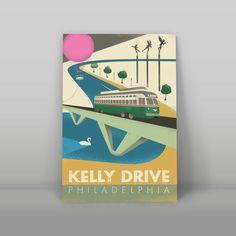 Philadelphia Kelly Drive Part Two Fairmount Park by nolibsdesign
