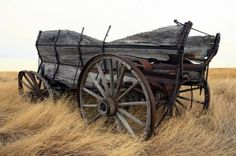 Wagon, wagon wheel - Naturalist Photography Old Abandoned Buildings, Abandoned Places, Abandoned Vehicles, Pioneer Trek, Old Windmills, Old Wagons, Country Farm, Country Life, Covered Wagon