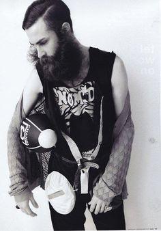 oh hello dream beard.i mean man Beard Boy, Sexy Beard, Epic Beard, Beard No Mustache, Mens Facial, Facial Hair, Handsome Bearded Men, Beard Quotes, Beard Model