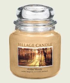 Amber Woods Scented Candles - New! Scented Candles | Village Candle