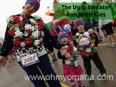 A recap of the annual Ugly Sweater Run in Omaha - a fun, silly race for the whole family