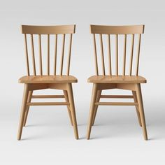 Set of 2 Windsor Dining Chair Natural - Threshold™ Windsor Dining Chairs, Plastic Dining Chairs, High Back Dining Chairs, Metal Dining Chairs, Upholstered Dining Chairs, Dining Chair Set, Dining Table, Dining Room, Furniture Legs