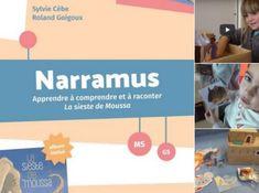 NARRAMUS :  15 vidéos d'activités menées en classe, réalisées par la blogueuse Objectif Maternelle. Nous avons trouvé cela formidable. Grande Section, Album, Ms Gs, Comprehension, Montessori, Teaching, School, Inspiration, Short Stories