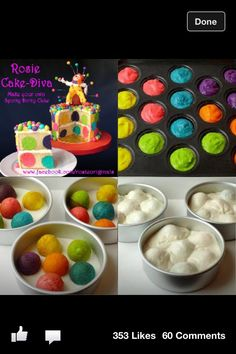 Awesome rainbow cake!