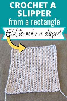 Crochet Slipper Pattern, Crochet Blanket Patterns, Crochet Stitches, Easy Crochet Slippers, Crochet Slipper Boots, Felted Slippers, Free Crochet, Knit Crochet, Crochet Summer