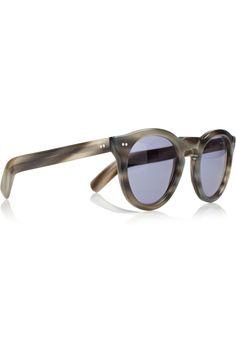 e77266e5352 Cutler and Gross - Round-frame acetate sunglasses
