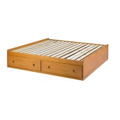 Kansas Solid Wood Full Size Storage Bed - Overstock™ Shopping - Great Deals on Beds