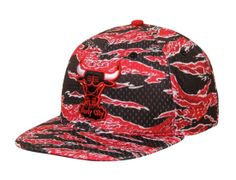 82fbfec8995 Buy New Era Chicago Bulls Mesh Tiger Fitted Hat - Red from the Official  Shop of the Chicago Bulls. A Portion of Proceeds Benefit Chicago Bulls  Basketball.