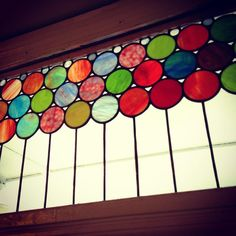 Finally got a chance to fill in another empty transom spot in hampden. Enjoy all that color!! #hampden #hampdencircles #stainglass #stainedglass #stainedglasscircles