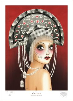 Orlova - Fine Art Giclee Print *not available online anymore, only at the Amsterdam Parlour