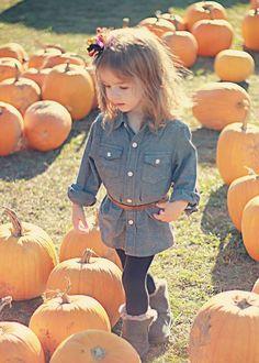 Toddler fashion Pumpkin patch